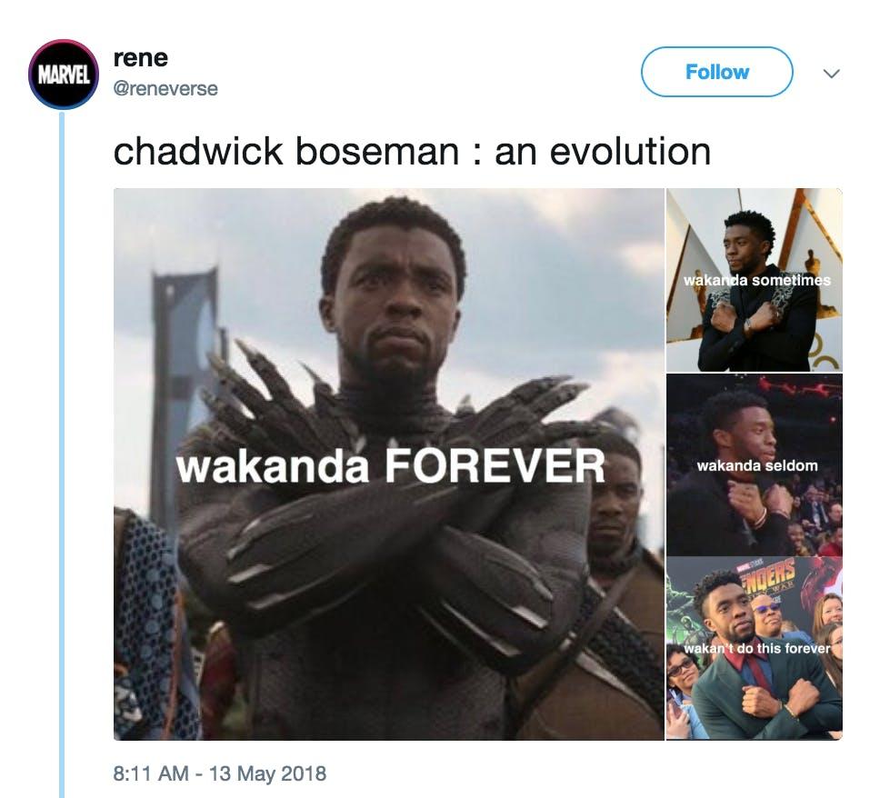 wakanda forever meme