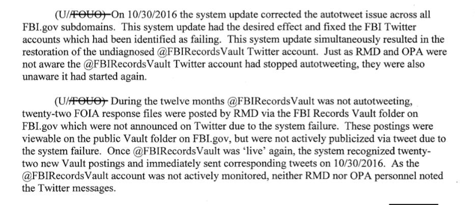 fbi records vault