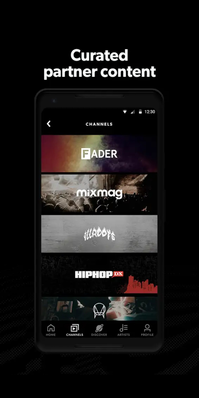 Wav media music streaming app