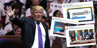 President Donald Trump used Twitter on Friday morning to comment on the release and findings of an Inspector General report about the FBI's role in the 2016 presidential election–but he seemed most jazzed about what Fox & Friends were talking about.