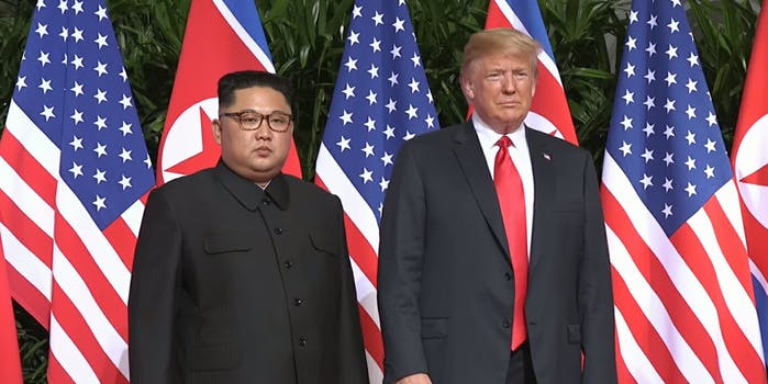 Donald Trump and North Korea signed an agreement on Tuesday aiming to denuclearize the Korean peninsula.