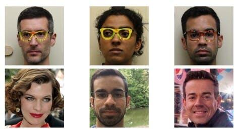 adversarial glasses - Sruti Bhagavatula, CMU School of Computer Science