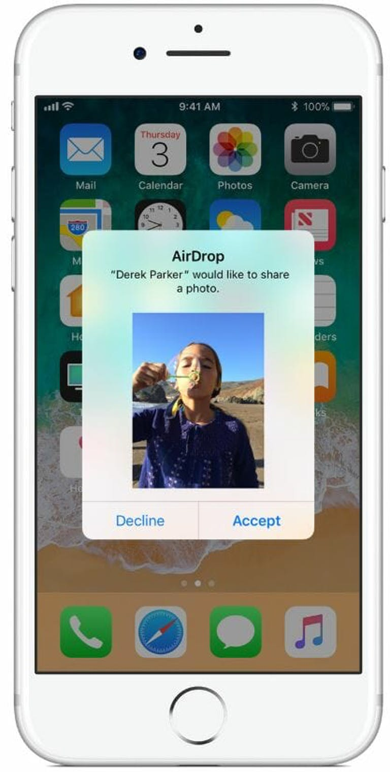 how to use airdrop on ios - apple airdrop accept or decline