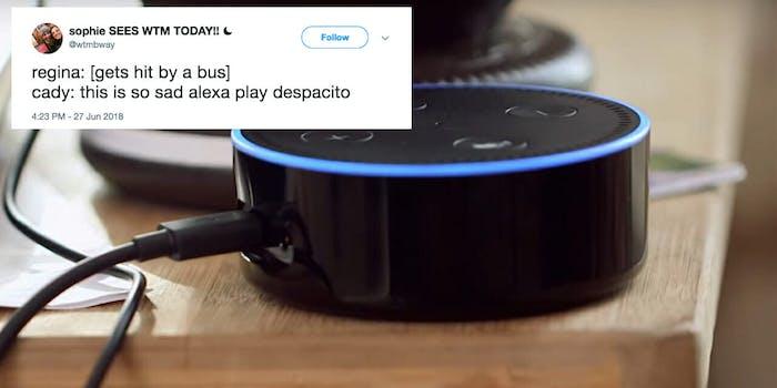 This is so sad Alexa Meme