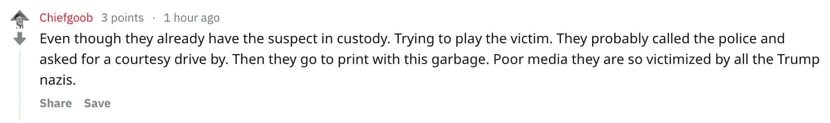 Annapolis shooting Reddit comments