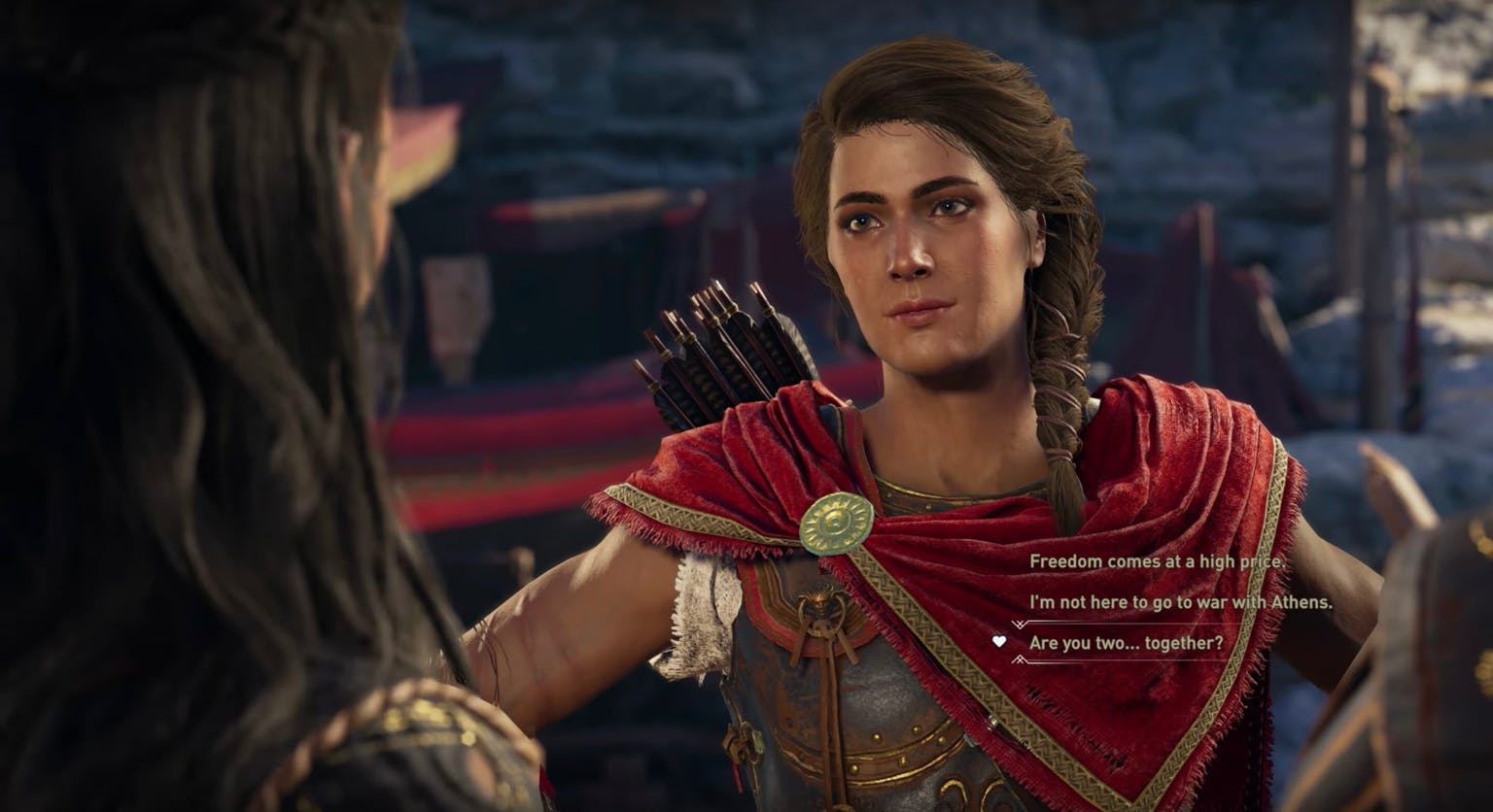 Assassins Creed: Odyssey Will Let You Flirt With Same-Sex Characters