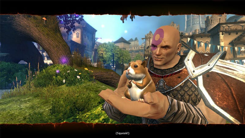 Boo hamster : baldurs gate