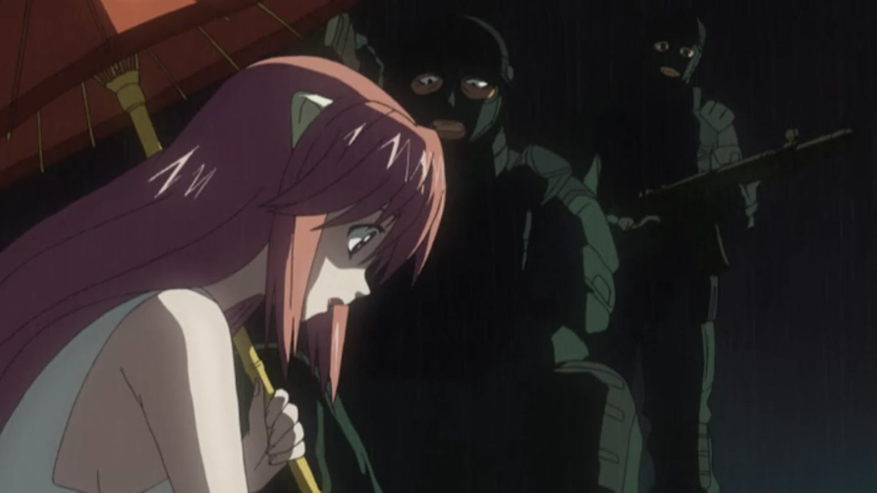 anime on amazon prime - Elfen Lied