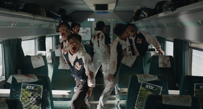 best korean movies on Netflix - train to busan