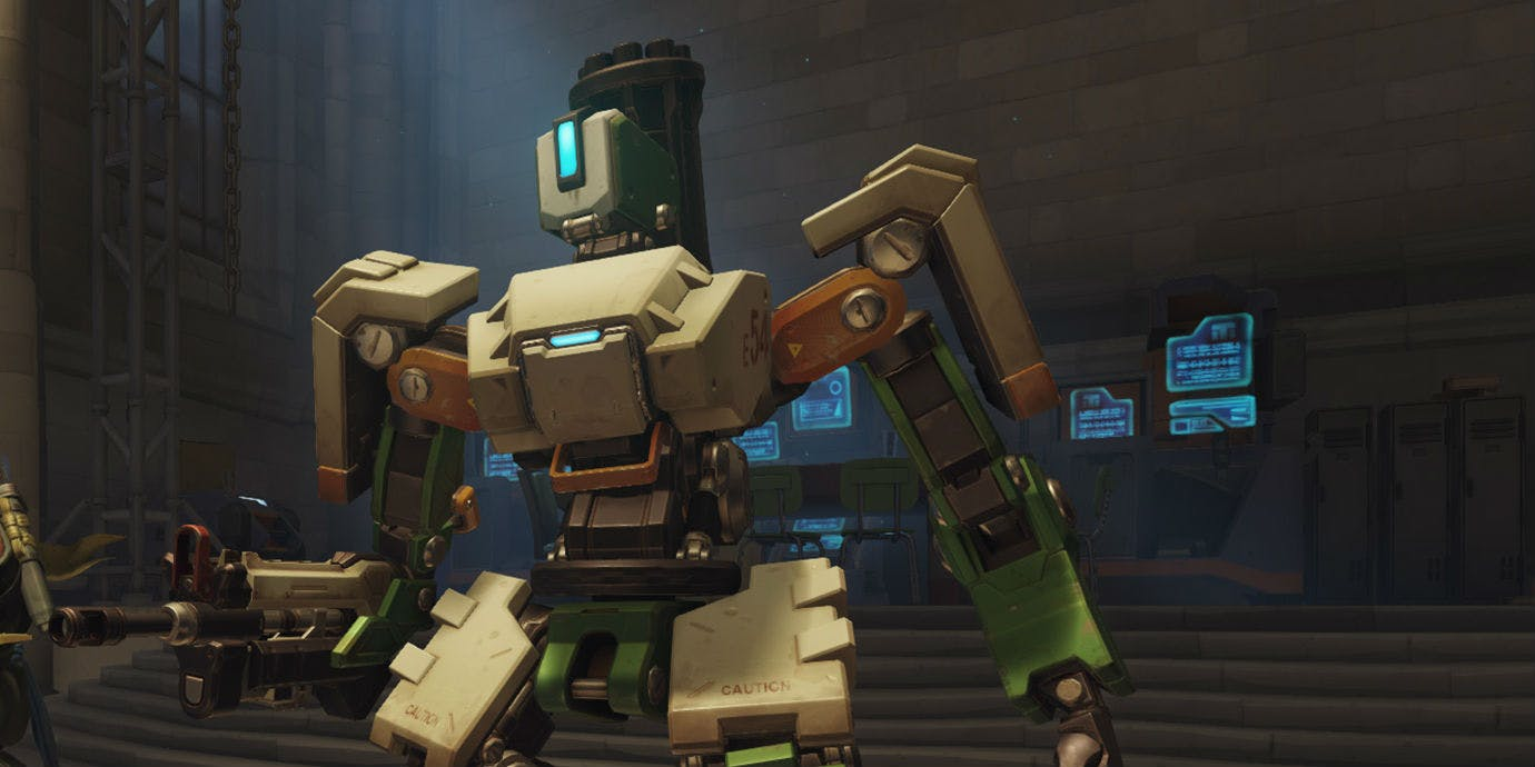 Best Overwatch Character Bastion