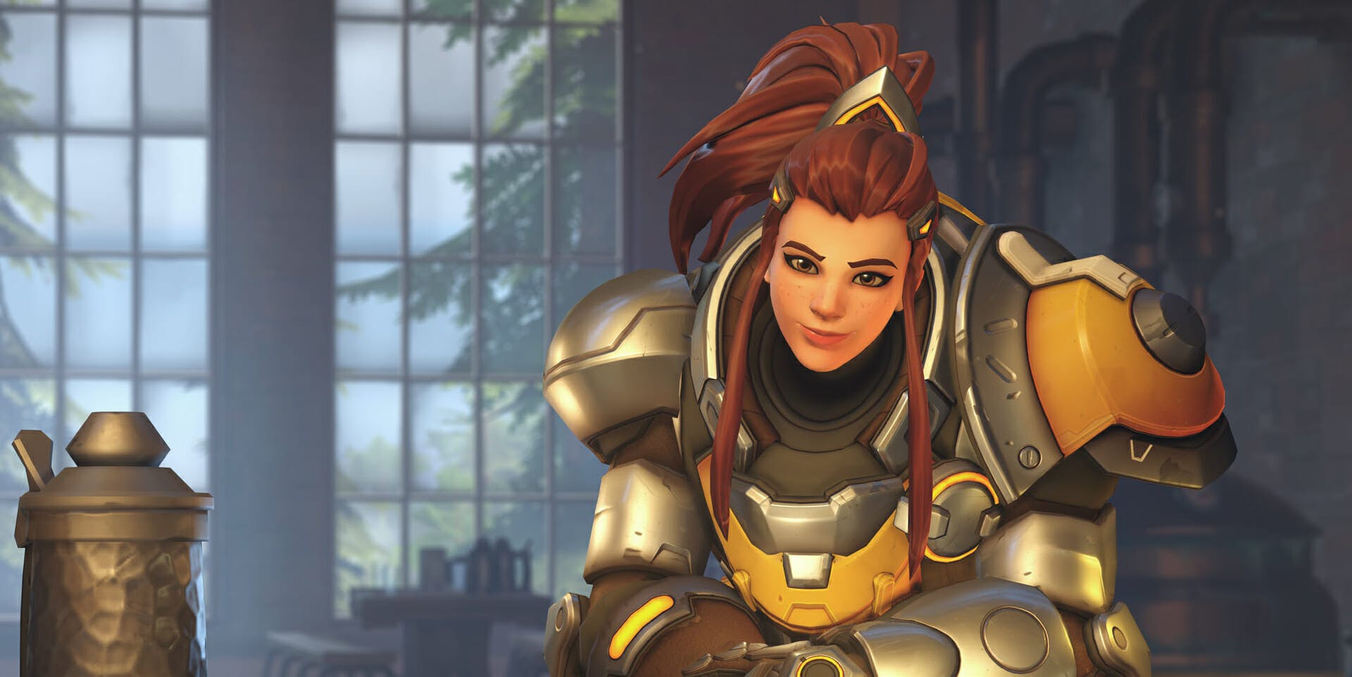 Best Overwatch Character Brigitte