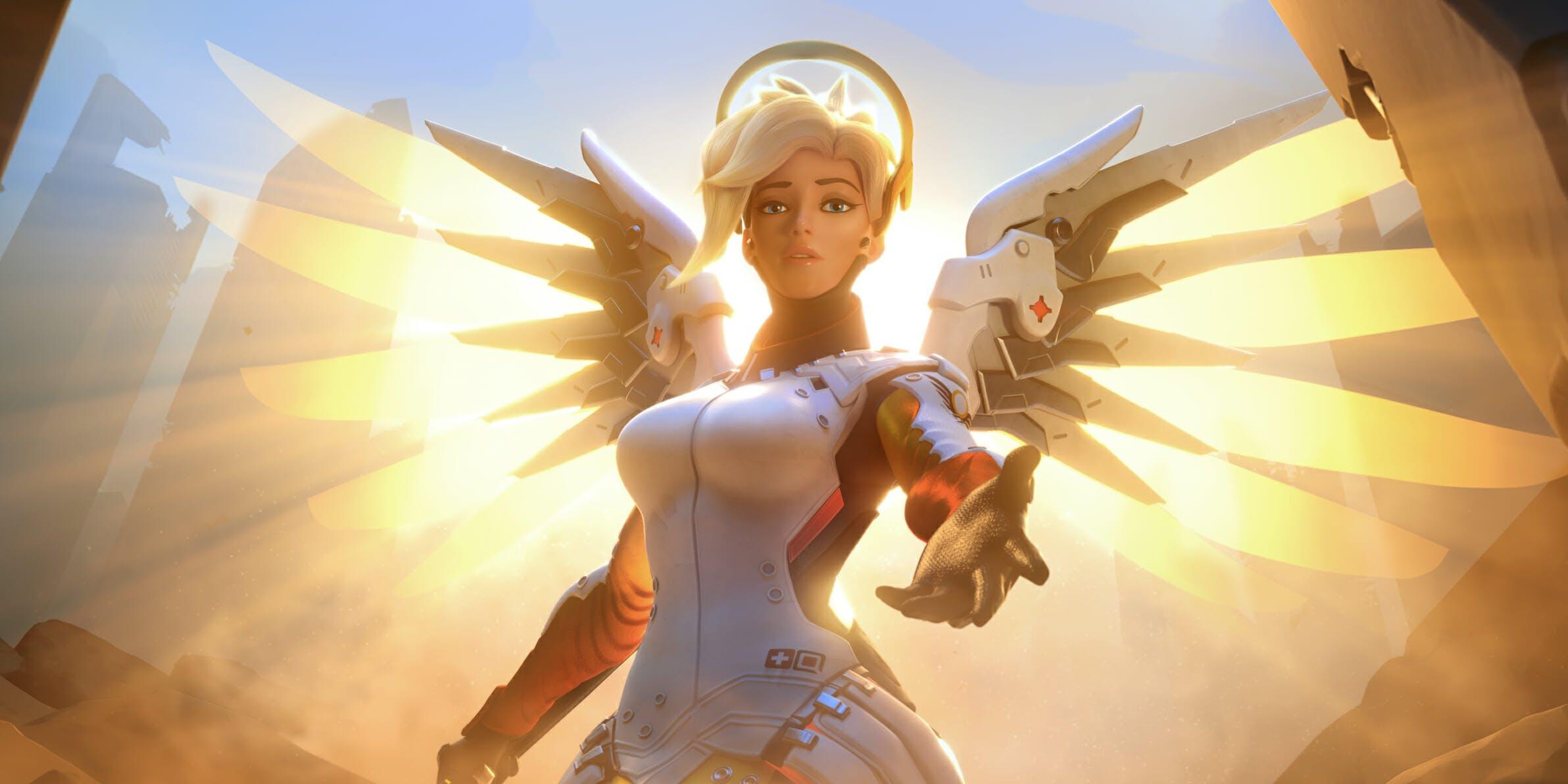 Best Overwatch Character Mercy