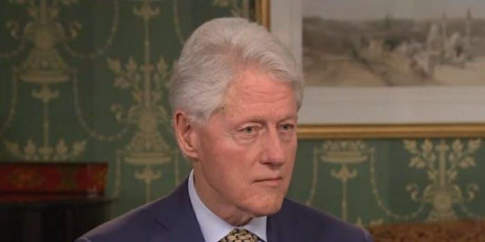 Bill Clinton Al Franken Metoo