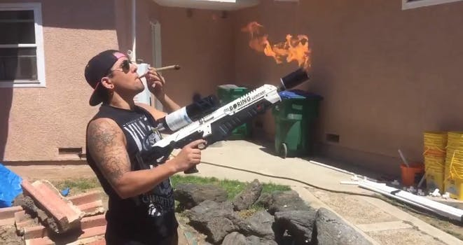 boring company not-a-flamethrower flamethrower