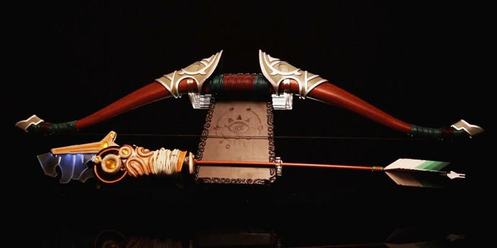 zelda bow and arrow