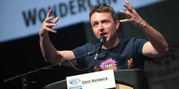 Chris Hardwick Comic-Con AMC sexual assault