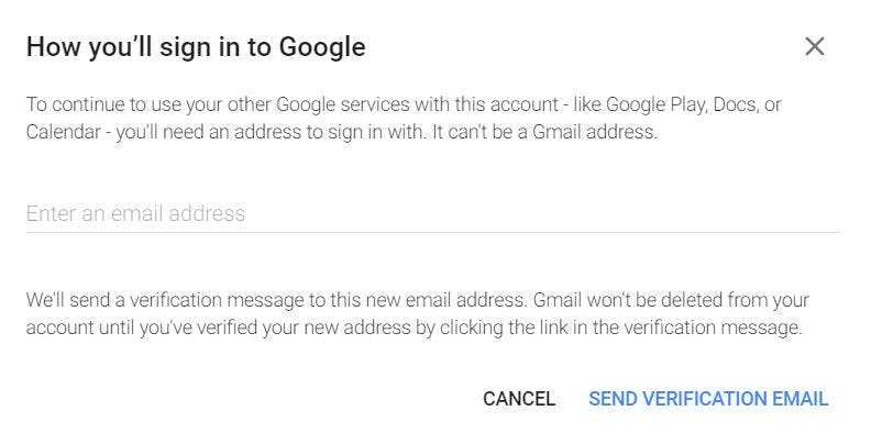 how to delete gmail account - google alternative gmail email