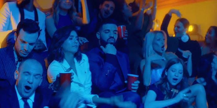 "drake degrassi reunion in ""I'm Upset"" video"