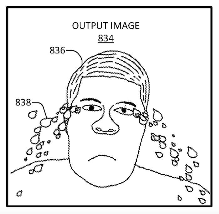 Facebook emotion detecting illustration