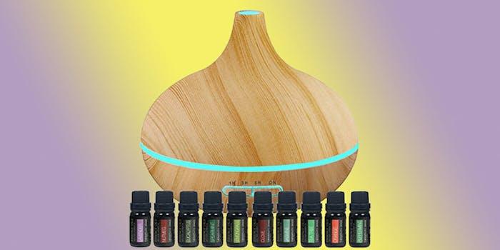 essential oils burner