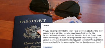 U.S. State Department's 'Family Travel Hacks!' live chat goes off the rails