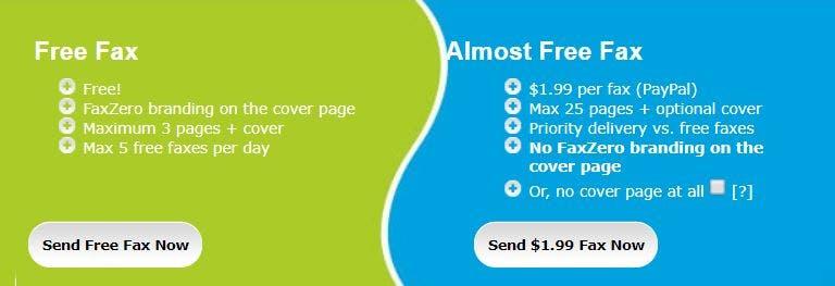 faxzero - free online fax
