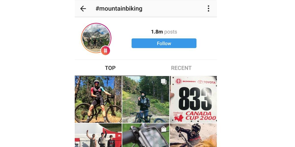 hidden instagram features - Follow hashtags on Instagram, Android app