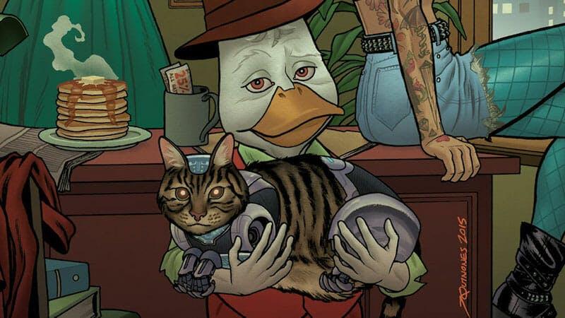 funny superheroes - howard the duck