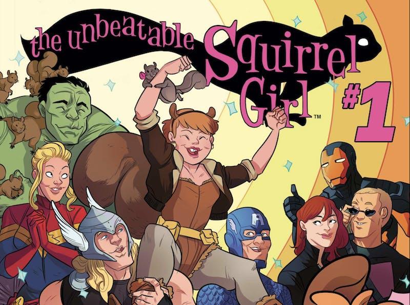 funny superheroes - squirrel girl
