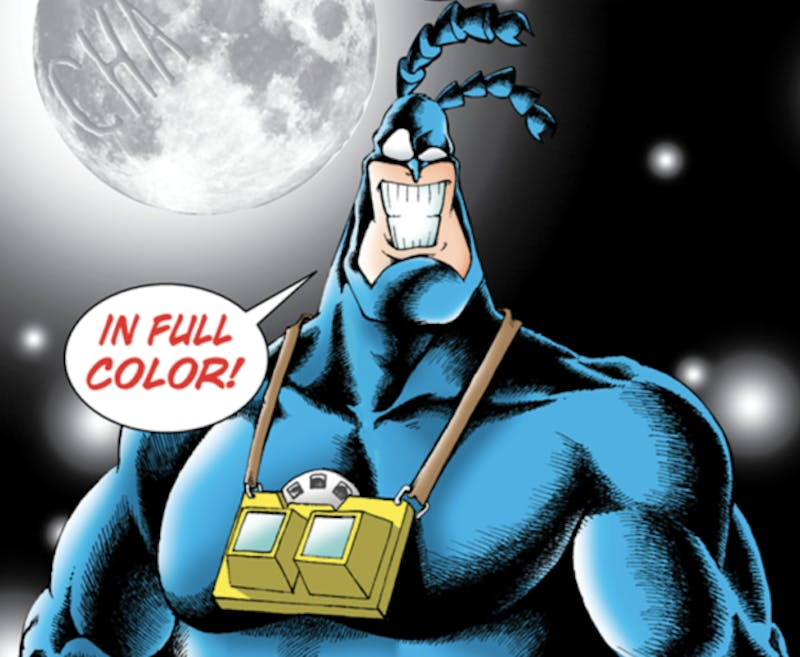 funny superheroes - the tick