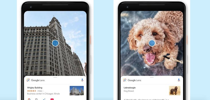Google Lens app on Android