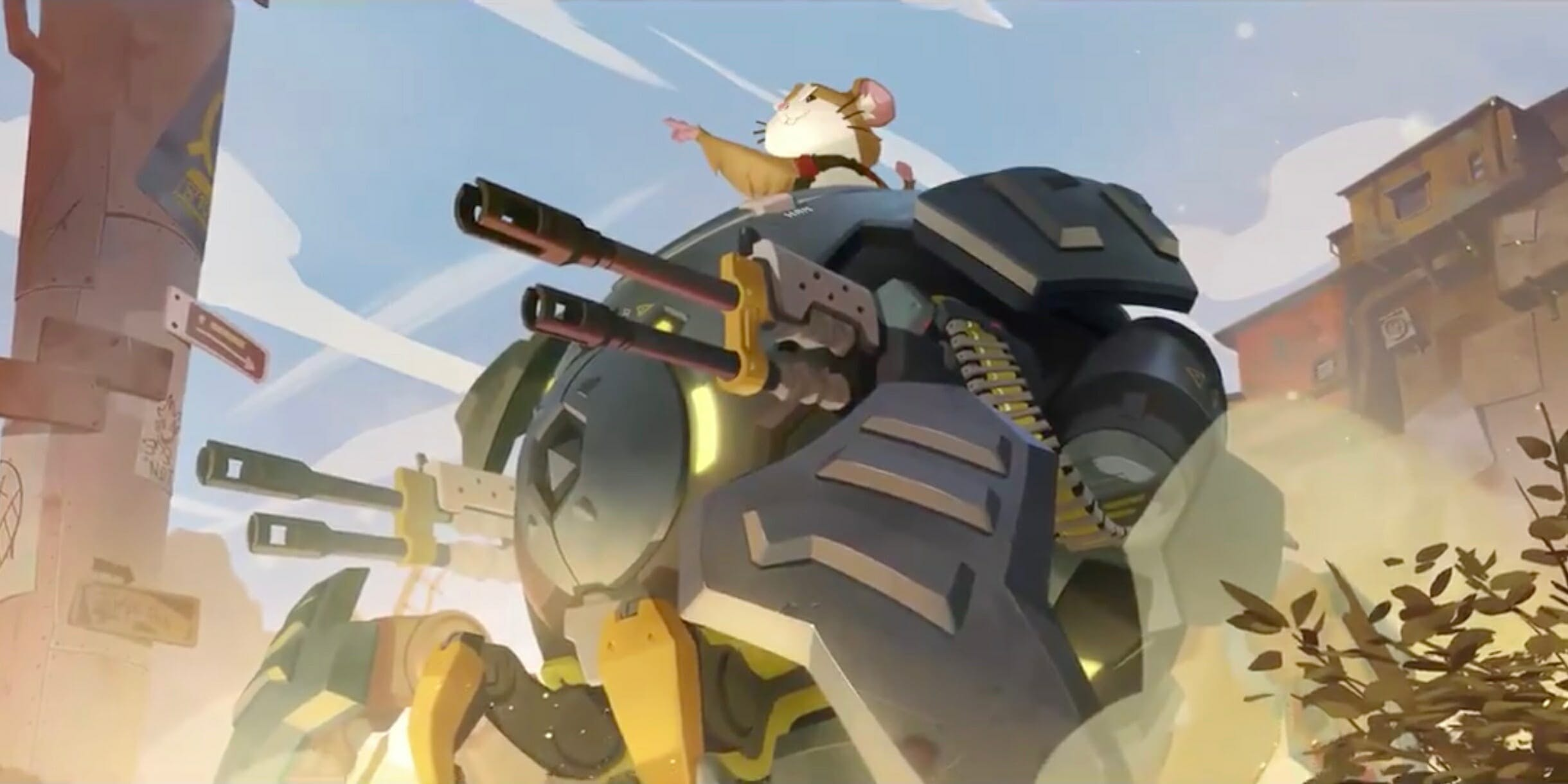 Overwatch's Newest Hero Is a Cute Hamster Named Hammond