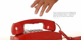 suicide hotline phone