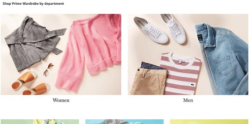 how does amazon prime wardrobe work?