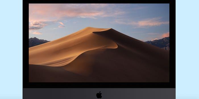 how to zoom on mac - macOS Mojave display