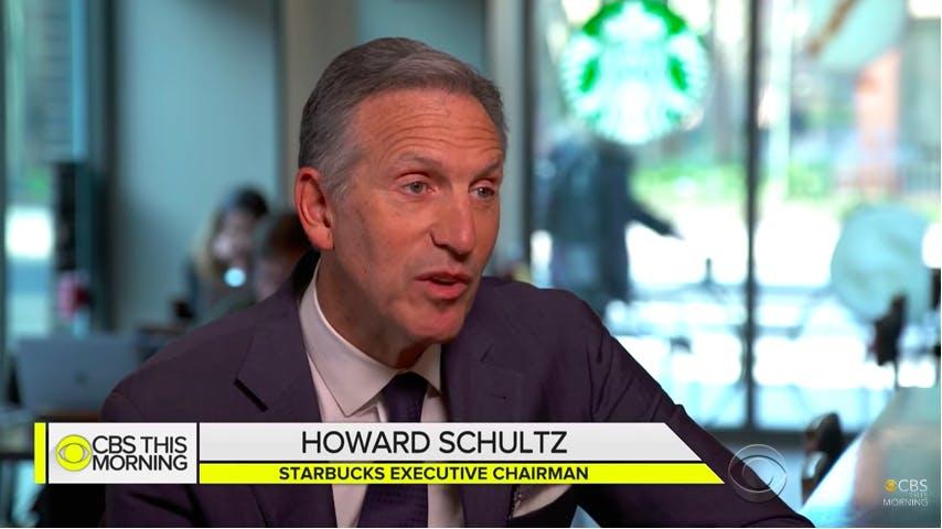 howard schultz for president