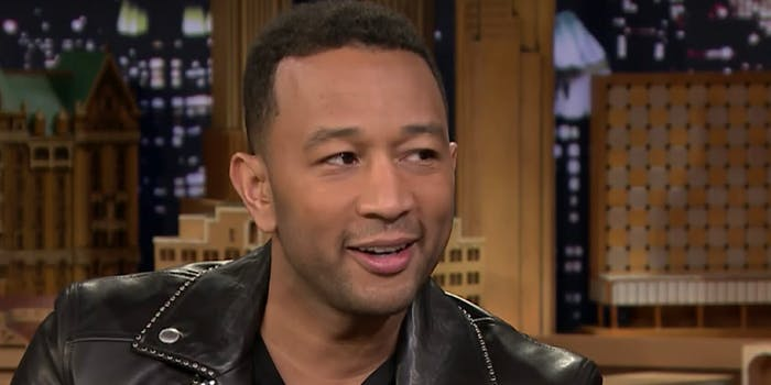 John Legend blasts Sarah Huckabee Sanders and wants to talk about immigration reform instead.