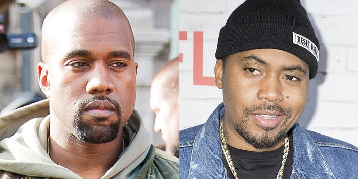Kanye West and Nas: Nas Abuse Allegations Resurface With New Album 'Nasir'