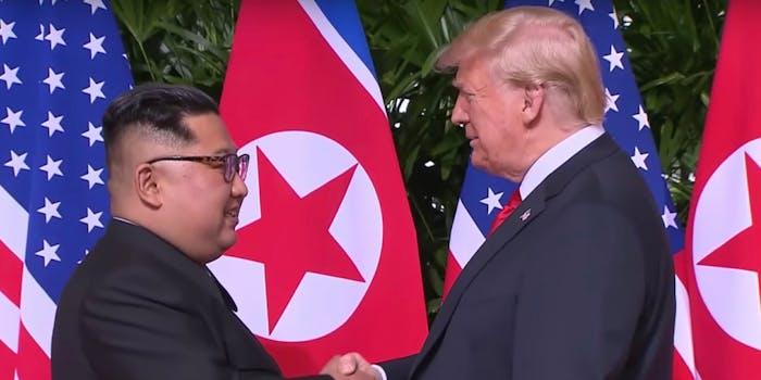 Trump downplayed the human rights transgressions of North Korean dictator Kim Jong-Un.