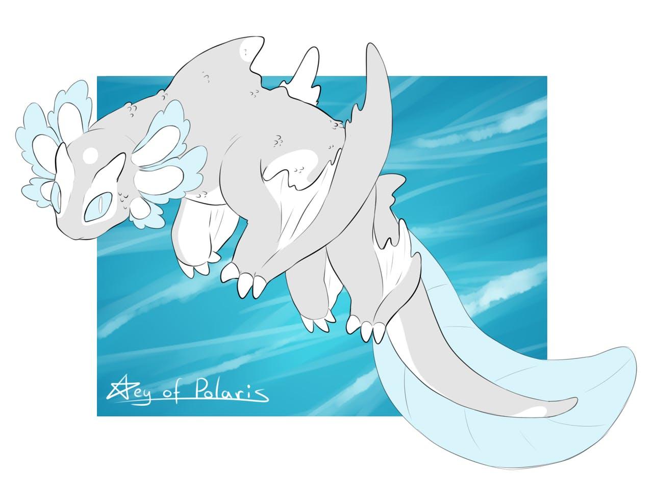light fury fanart dragon