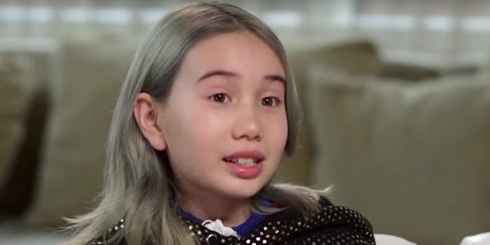 Lil Tay's Instagram and YouTube accounts have gone dark.