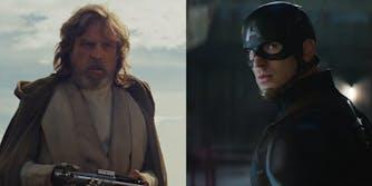 luke skywalker vs captain america