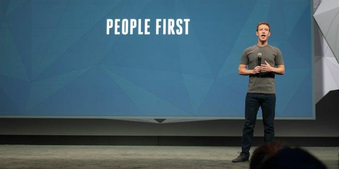 mark zuckerberg facebook ceo people first