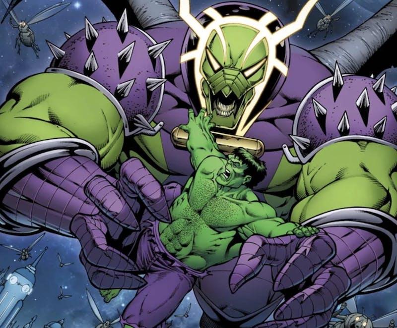 most powerful marvel villains : annihilus
