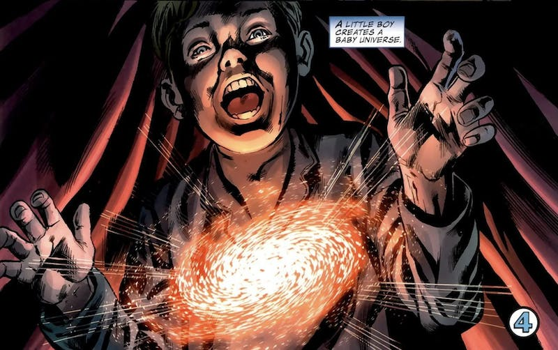 most powerful marvel characters : franklin richards