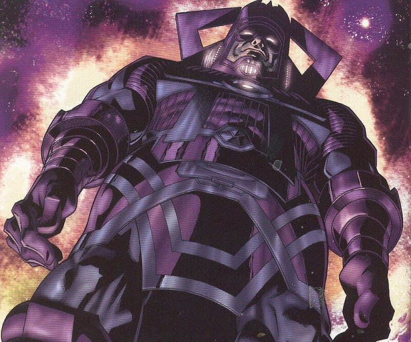 most powerful marvel characters : galactus
