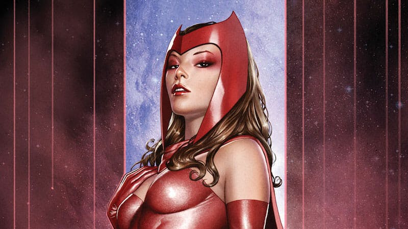 strongest marvel characters : scarlet witch