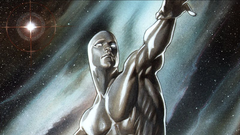 most powerful marvel hero : silver surfer