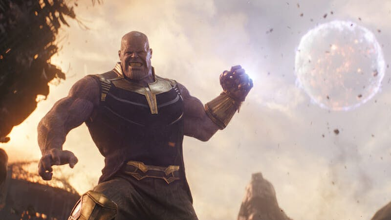 most powerful marvel characters : thanos