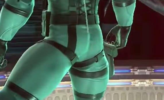 Solid Snake Butt